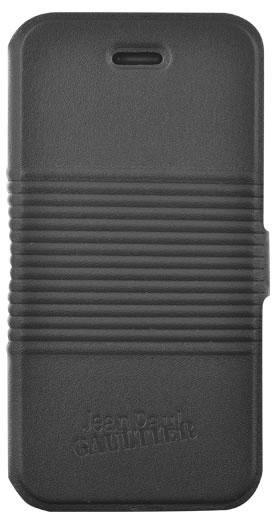 "Jean-Paul Gaultier Folio case ""Tin can"" (black) - Packshot"