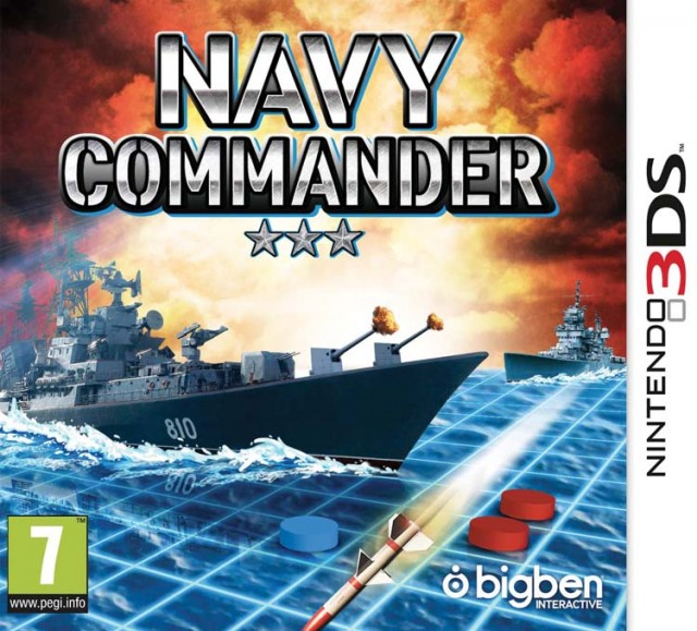 Navy Commander – Packshot