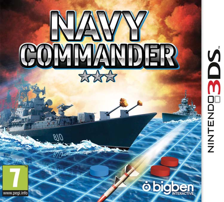Navy Commander – Packshot