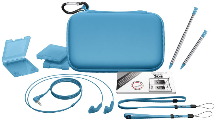 """Accessories """"Essential"""" pack for Nintendo New 3DS - Packshot"""