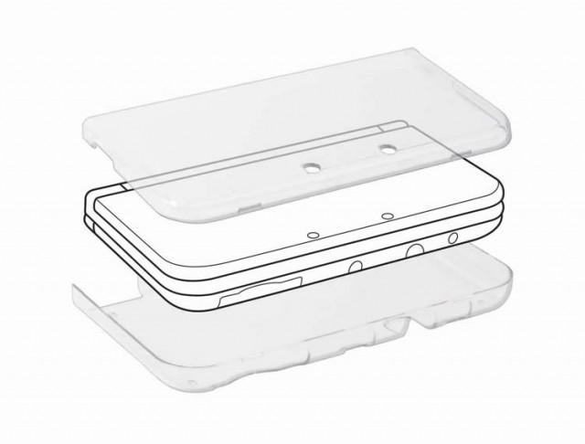 Polycarbonate case for Nintendo New 3DS - Packshot