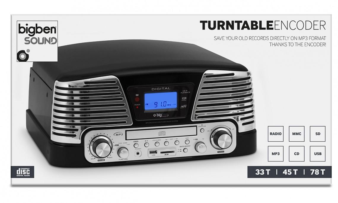 "Turntable Encoder ""60's"" (Memphis Black) - Image"