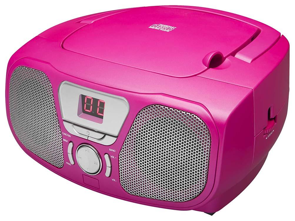 "Radio CD Player ""Stick"" (Pink) - Image   #1"