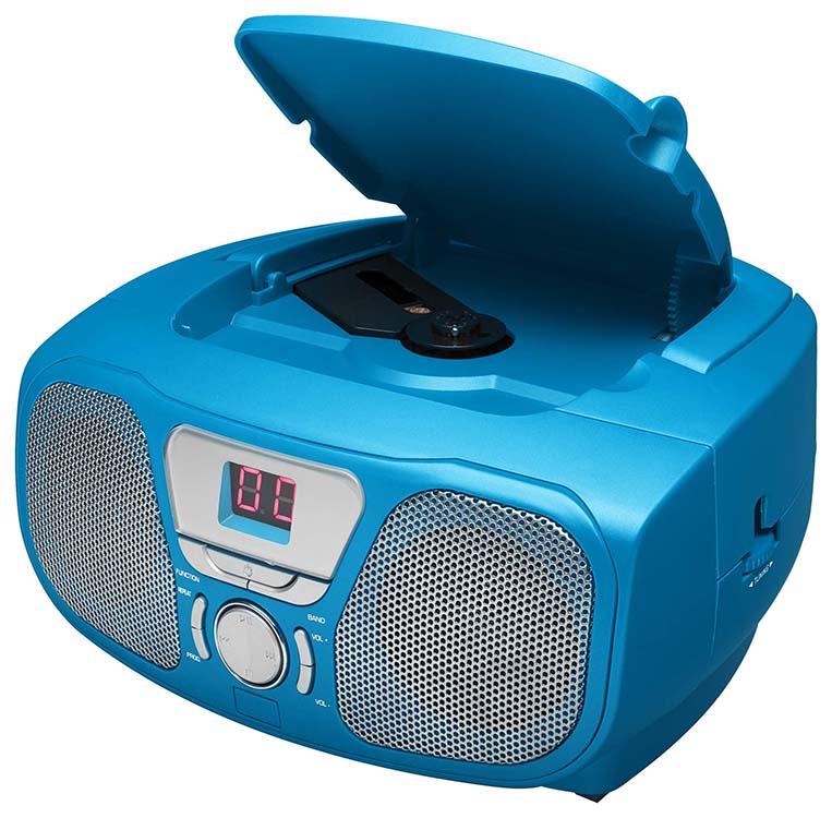 "Radio CD Player ""Kidzy"" Ice Blue (+ Stickers) – Image   #1"