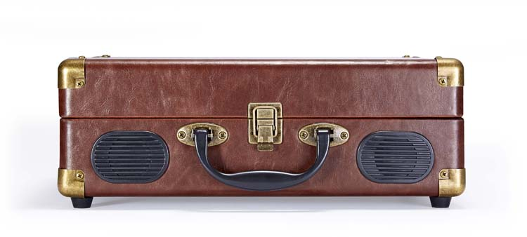 """Suitcase"" Turntable (Leather) - Image   #3"