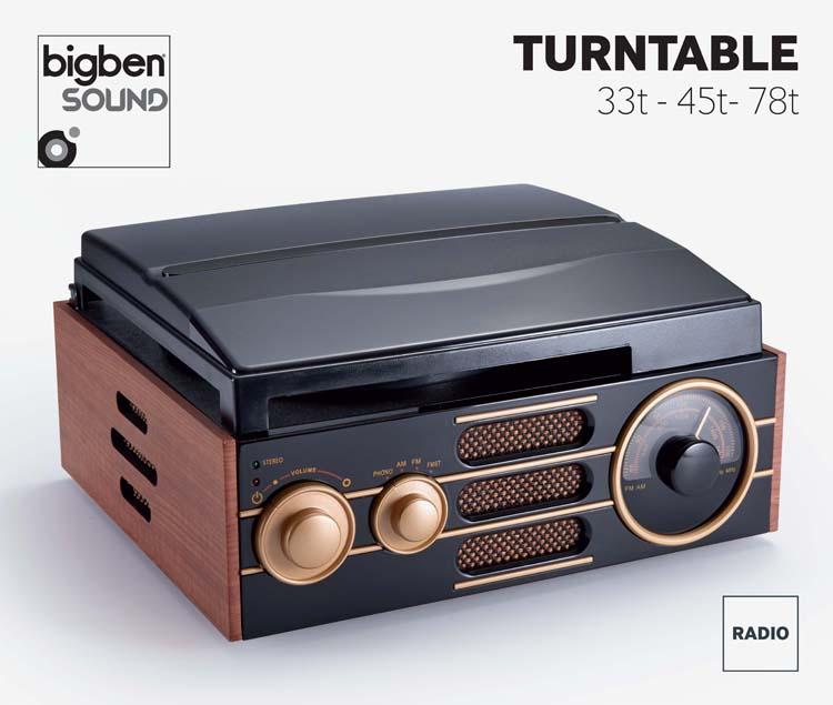 """Art Deco"" Turntable - Image"