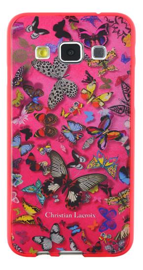 "Christian Lacroix Hard Case ""Butterfly Parade"" (Grenadine) - Packshot"