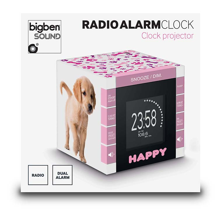 "Radio Alarm Clock ""Happy Cube"" - Image   #3"