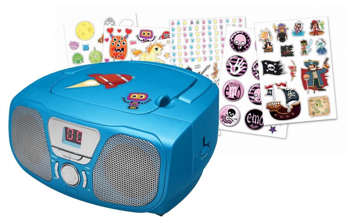 "Radio CD Player ""Stick"" (Blue) - Image   #3"