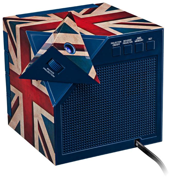 "Radio Alarm Clock Projector ""Union Jack"" - Image   #6"