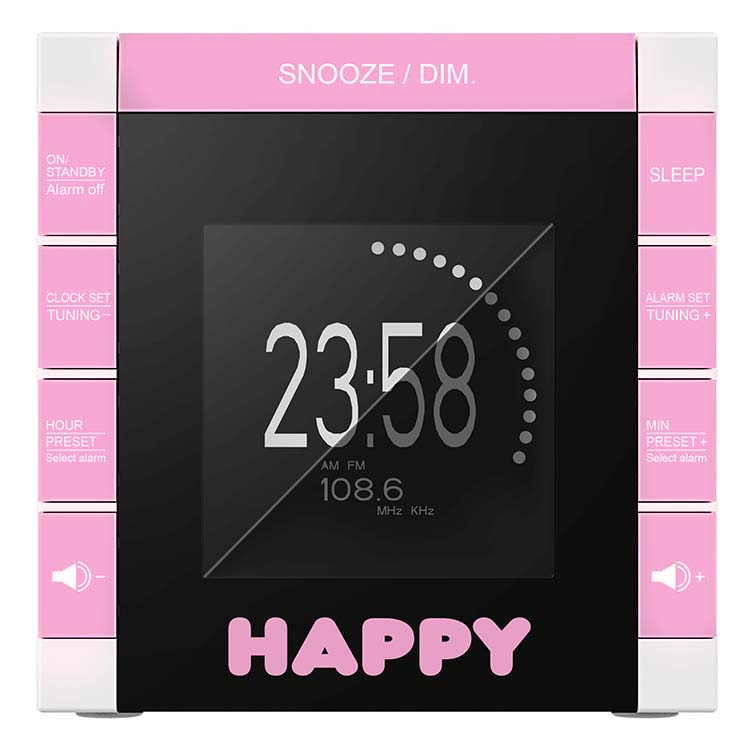 "Radio Alarm Clock ""Happy Cube"" - Image   #5"
