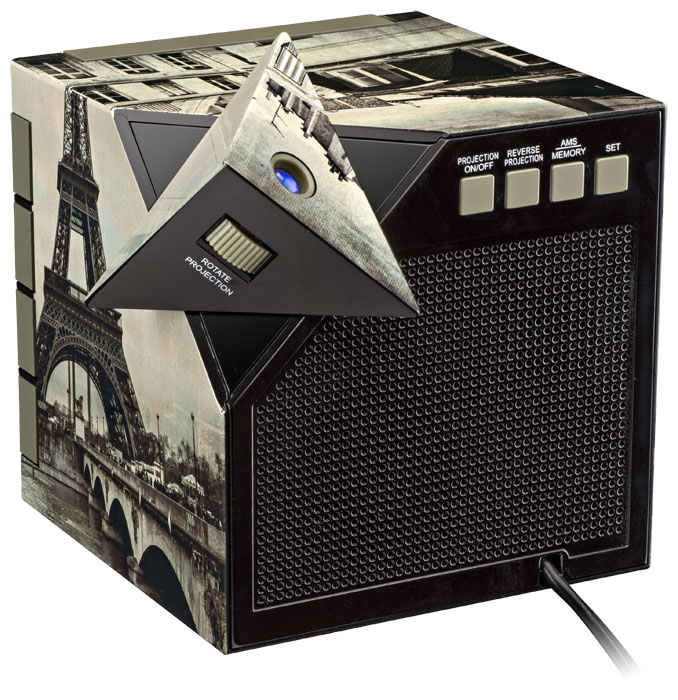 "Radio Alarm Clock Projector ""Paris"" - Image   #5"