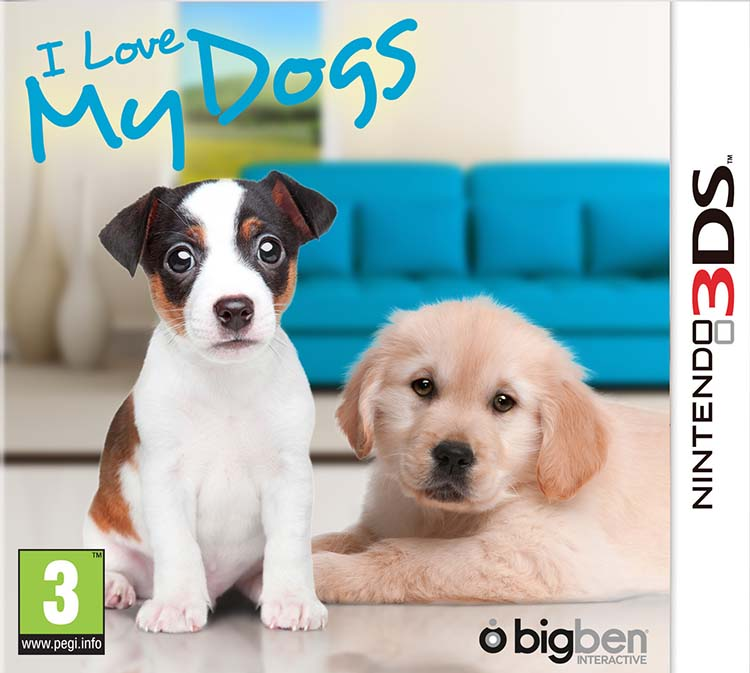 I Love My Dogs - Packshot