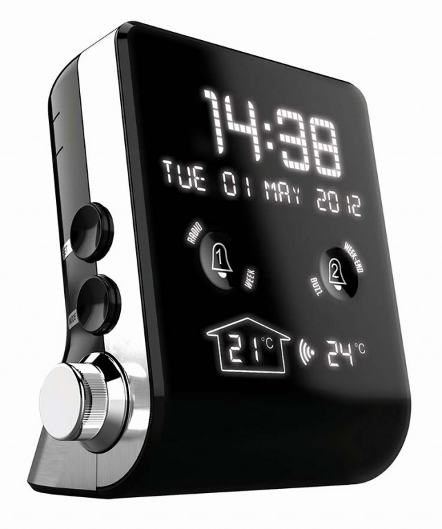 Mini Clock-Radio (Black) - Packshot