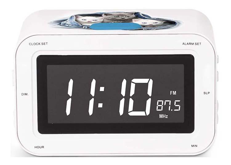 RR30 Clock Radio (Kitties) - Image