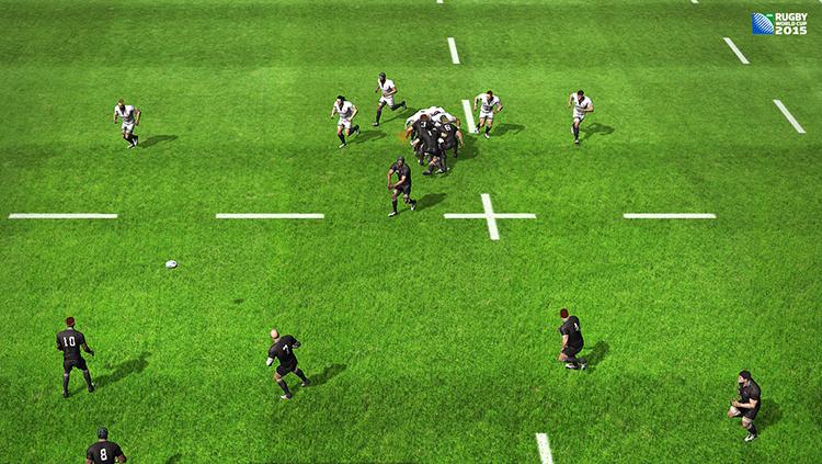 RUGBY WORLD CUP 2015 - Screenshot #1