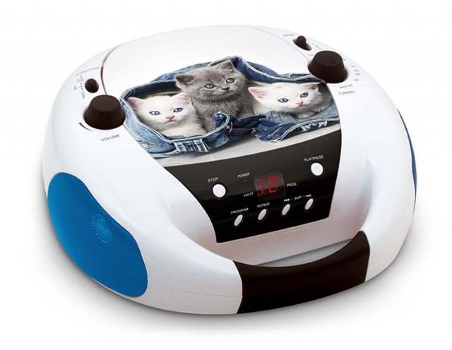 "Radio-CD player ""My Little Cats"" - Packshot"