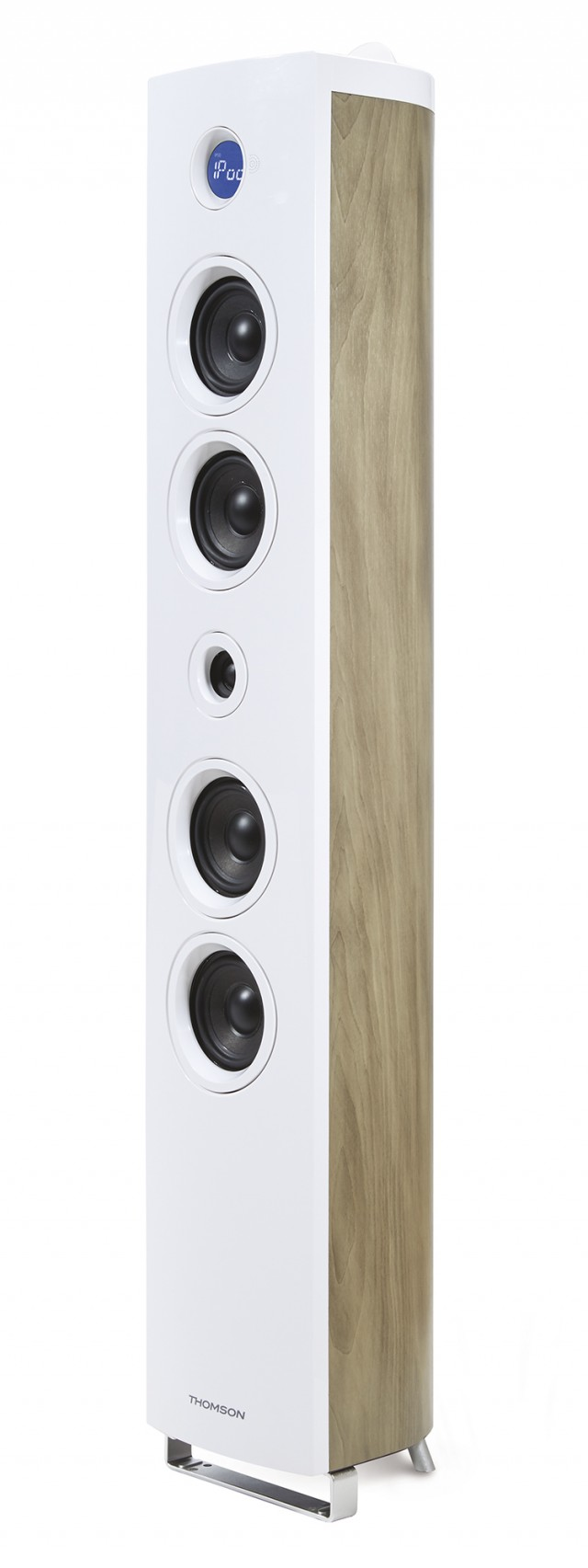 Multimedia Tower 'Wood' (White) - Packshot
