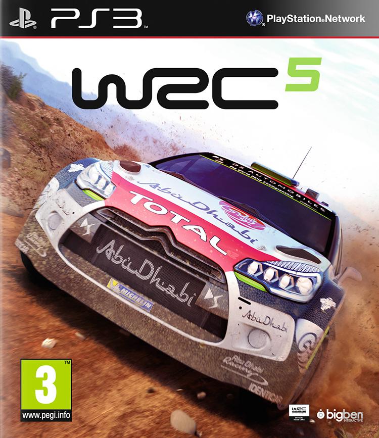 WRC 5 - Packshot