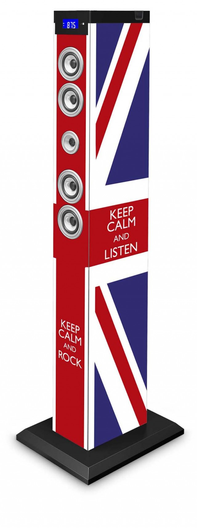 Multimedia Tower Keep Calm (UK) - Packshot