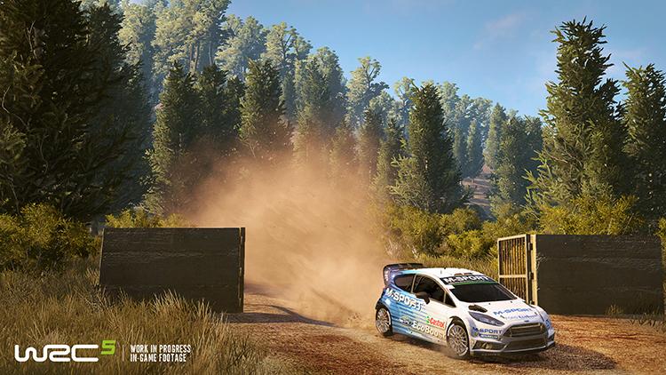 WRC 5 - Screenshot #3