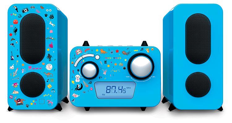Micro system MP3/USB - Packshot