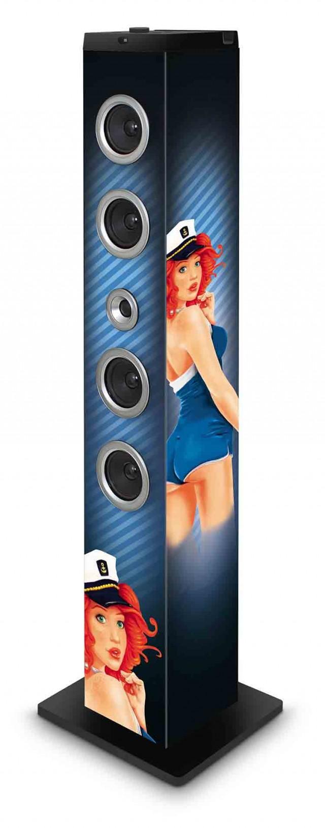 Multimedia Tower Pin-up - Packshot