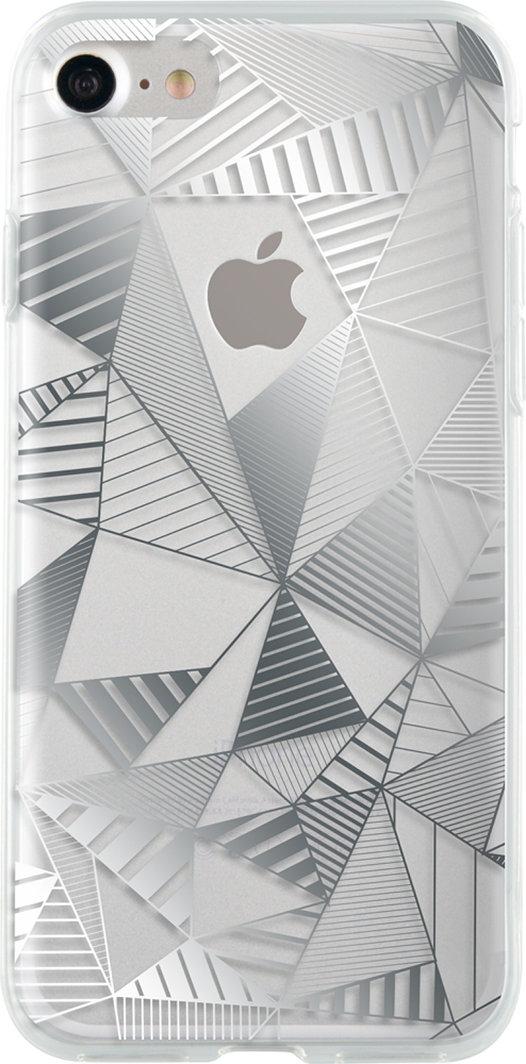 Semi-rigid case (silver) - Packshot
