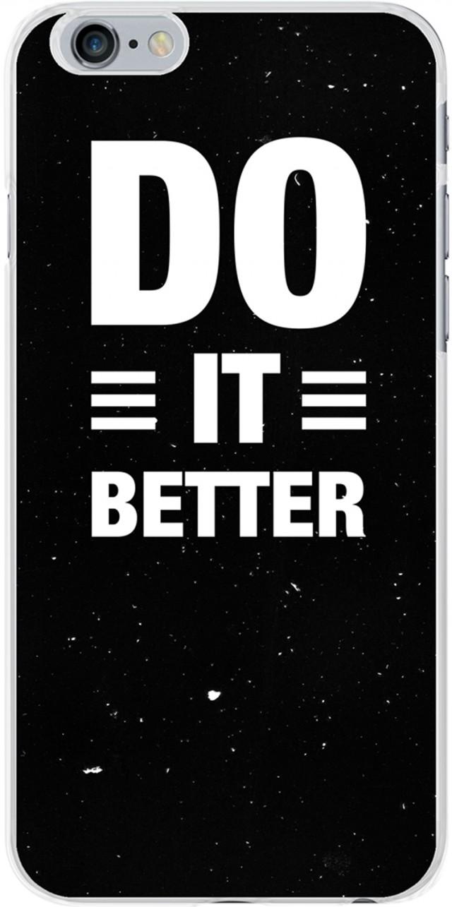 "Semi-rigid case ""Do it better"" (black) - Packshot"
