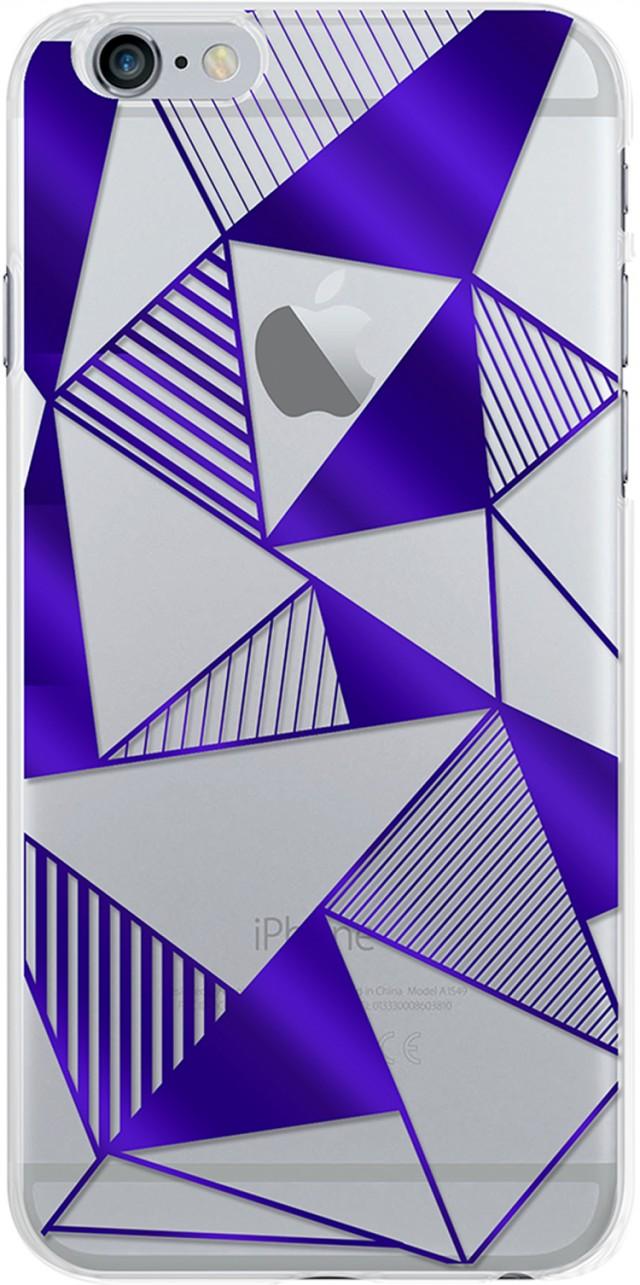 Semi-rigid case (blue) - Packshot