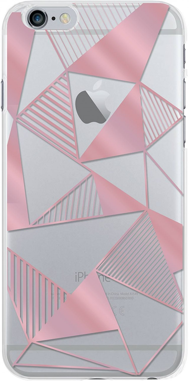Semi-rigid case (pink) - Packshot