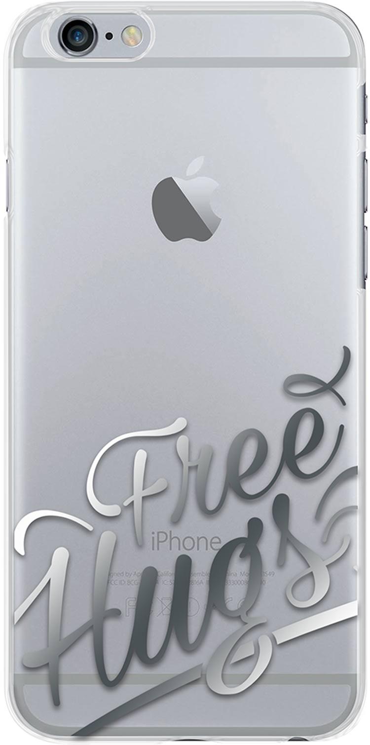 """Hard case """"Free hugs"""" - Packshot"""