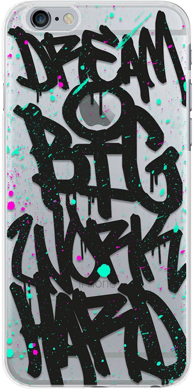 Flexible case (graffiti) - Packshot