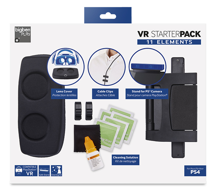 11 items for VR Headset - Packshot