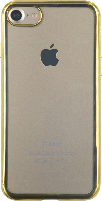 Semi-rigid case clear and metal contour (gold) - Packshot