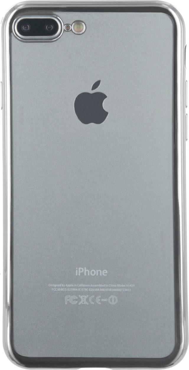 Semi-rigid case clear and metal contour (silver) - Packshot