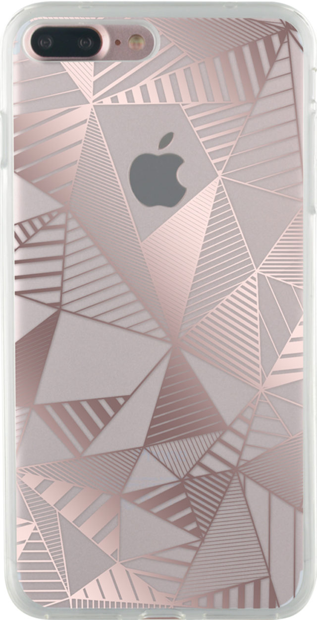Semi-rigid case (pink metallic) - Packshot