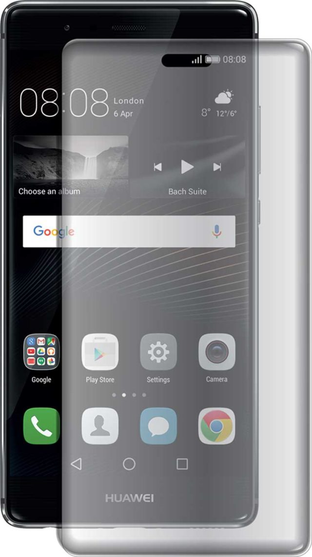 The tempered glass screen protector - Packshot