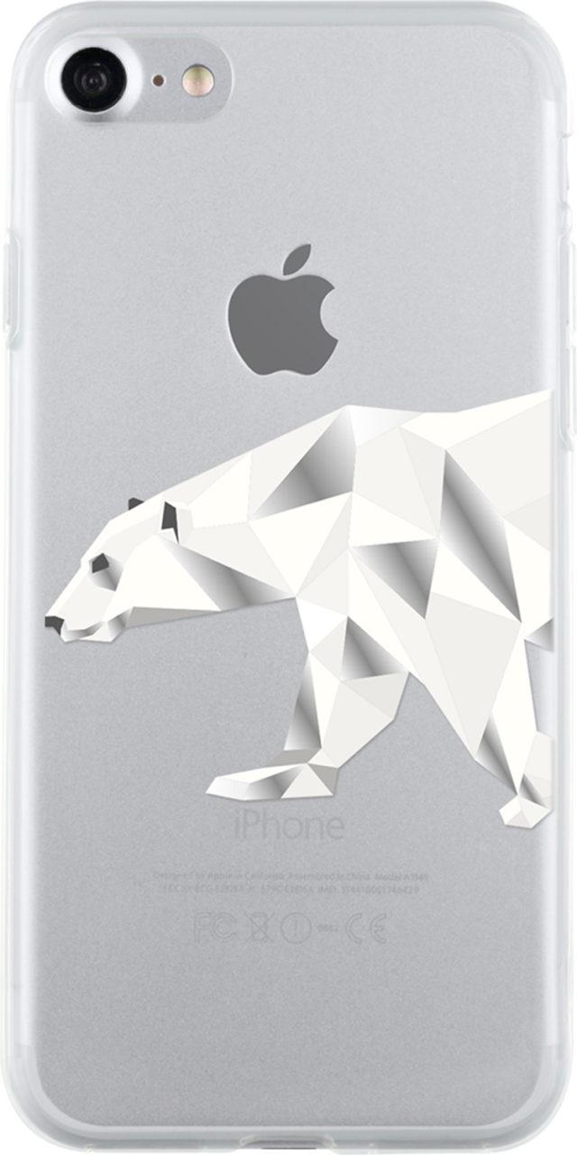 Semi-rigid case clear (polar bear) - Packshot