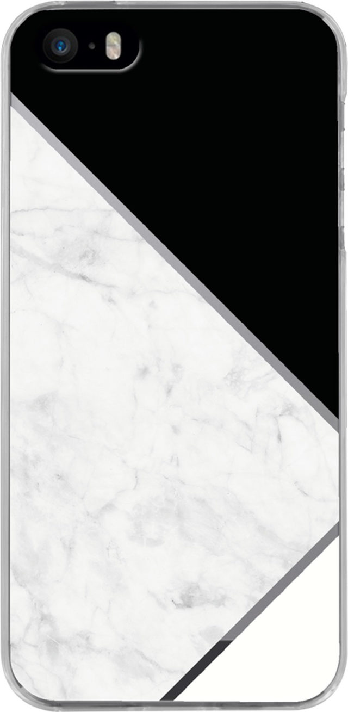 Semi-rigid case (black and white) - Packshot