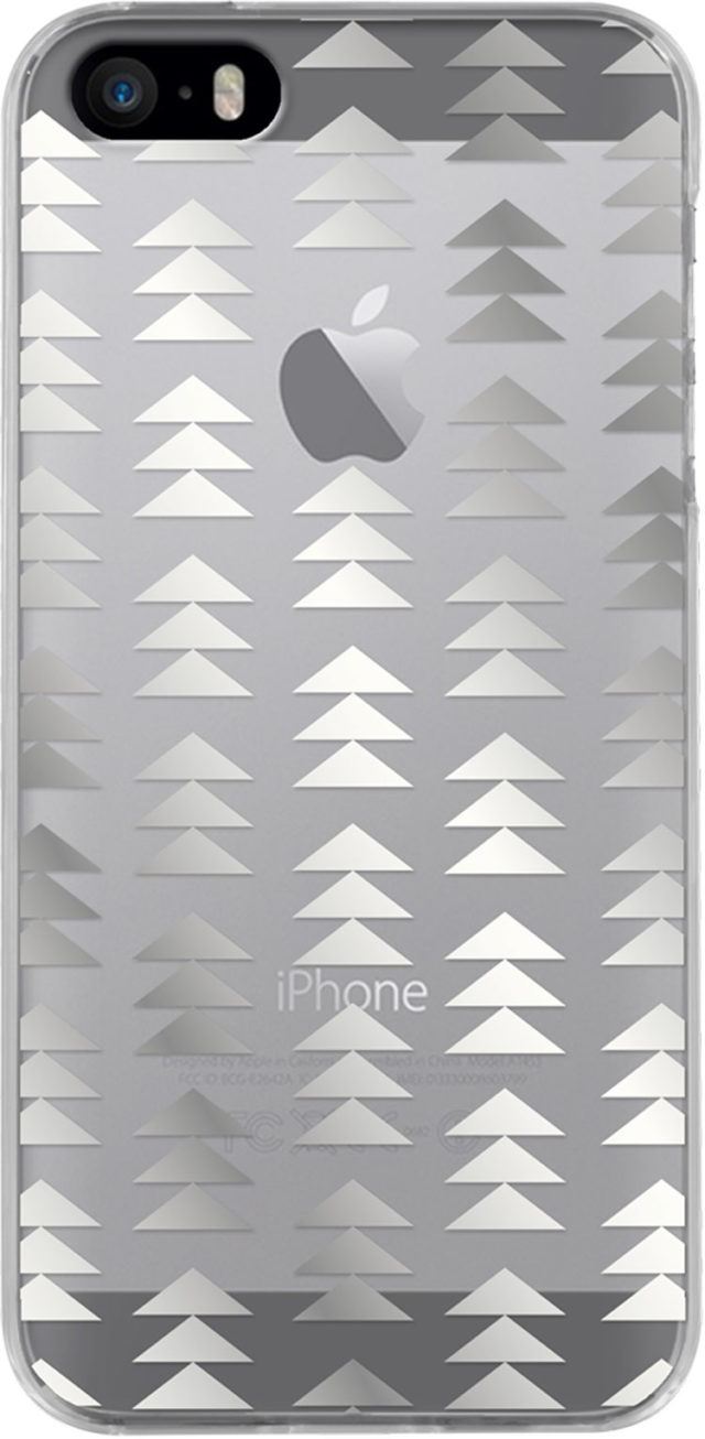 Semi-rigid case (silver christmas tree) - Packshot
