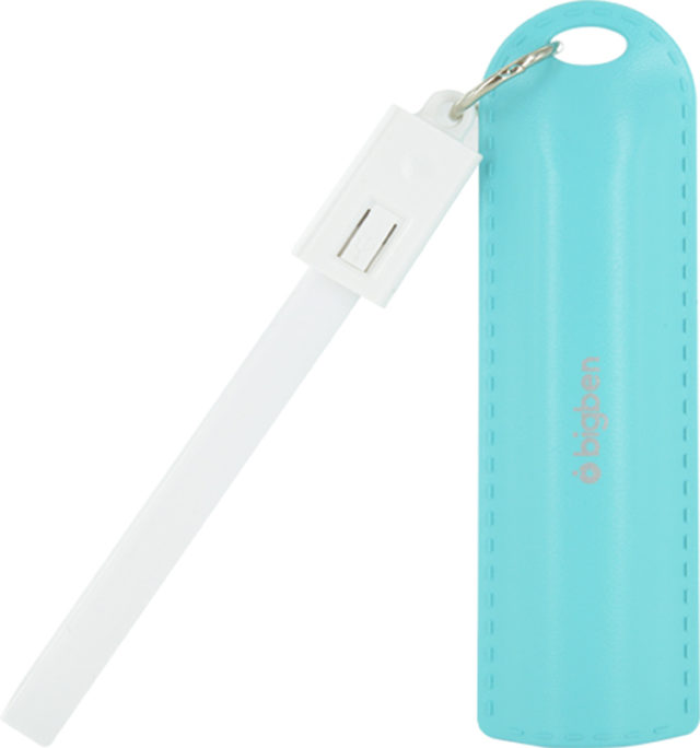 Power bank key ring 2200mAh (blue) - Packshot