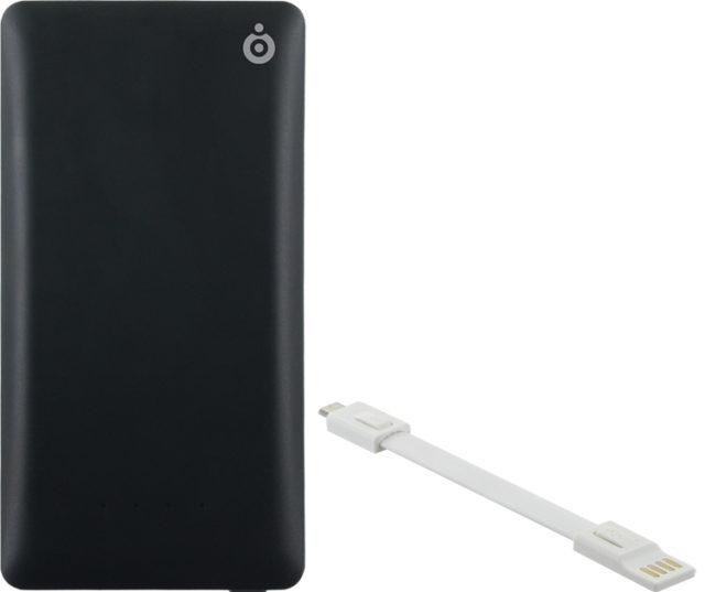 Power bank 4400mAh (black) - Packshot