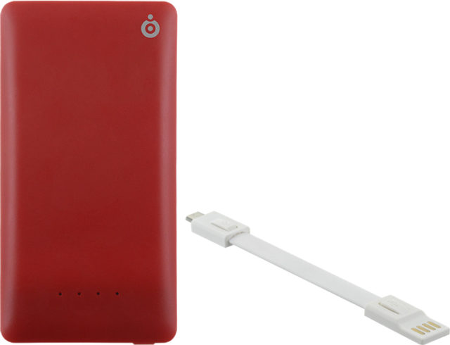 Power bank 4400mAh (red) - Packshot