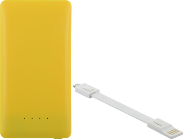 Power bank 4400mAh (yellow) - Packshot