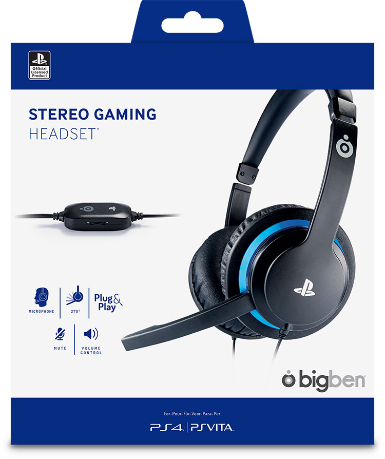Stereo Gaming Headset PS4OFHEADSETV2 SONY | Bigben EN