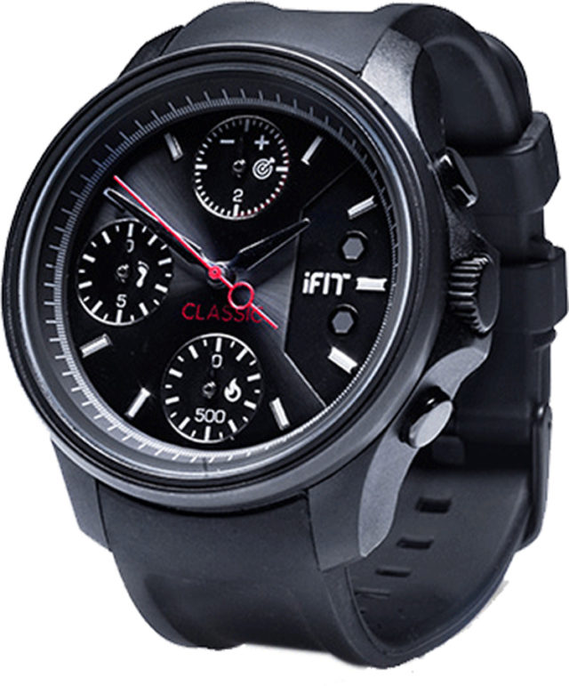 IFIT watch Classic (black) - Packshot