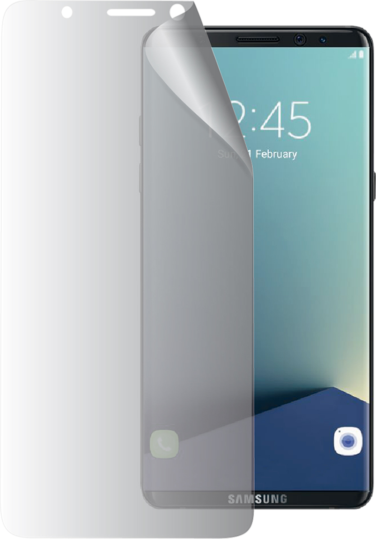 A Samsung screen protector - Packshot