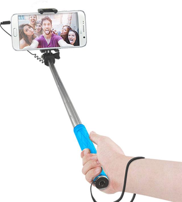 Mini Selfie Stick (blue) - Packshot