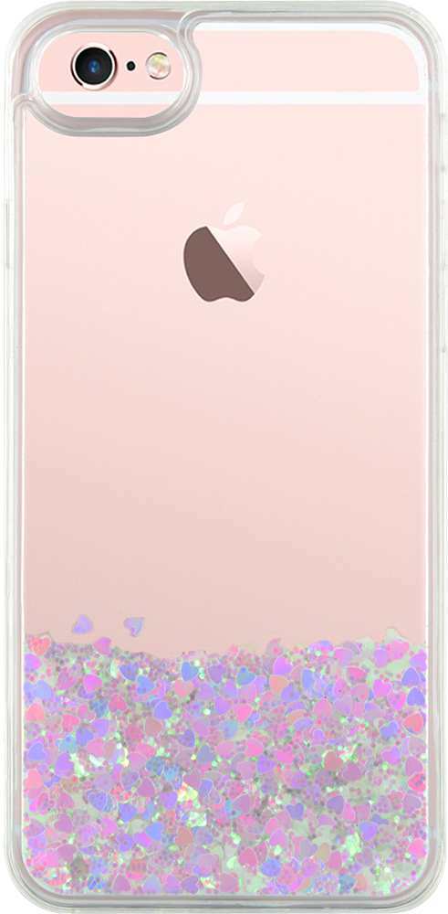 Sparkling liquid hard case (white) - Image